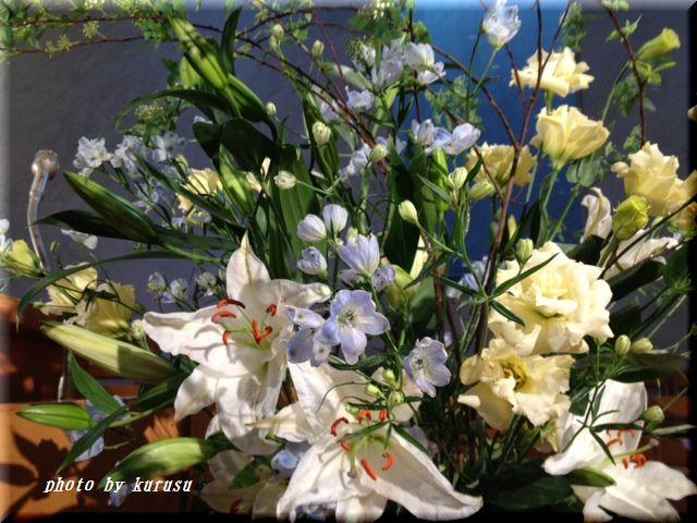 講壇の花2012年1月22日